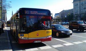 Mecz na Legii: autobusy na objazdach objazdów