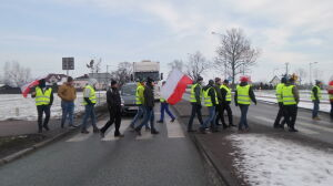 """Protest rolników. Blokowali krajową """"50"""""""