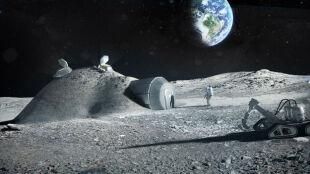 Potęga technologii druku 3D: ESA przymierza się do wydrukowania bazy na Księżycu