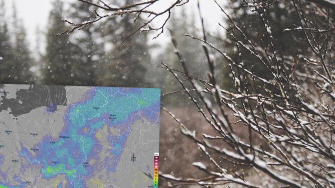 Wietrzne i pochmurne zakończenie grudnia. Początek roku nie będzie lepszy